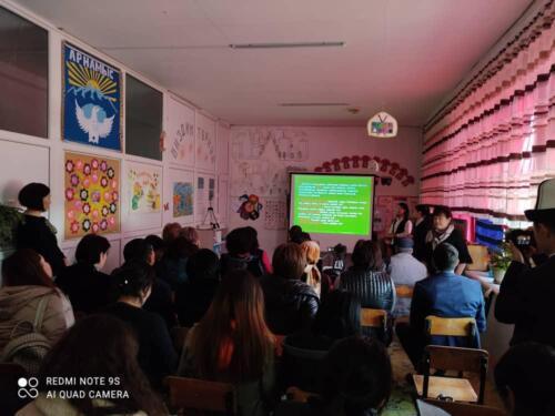Посещение школы им. Түгөл уулу Усупбек